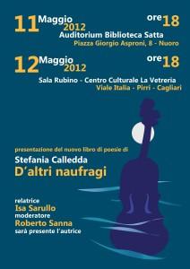 Locandina - eventi di Nuoro e Cagliari