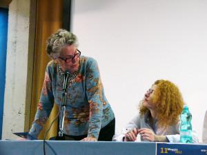Nuoro, 11 maggio 2011: Isa Sarullo e Stefania Calledda