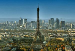 Parigi - panorama diurno