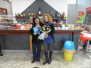 Io, la presidente di Abbraccio onlus Ignazia Cucci in sede