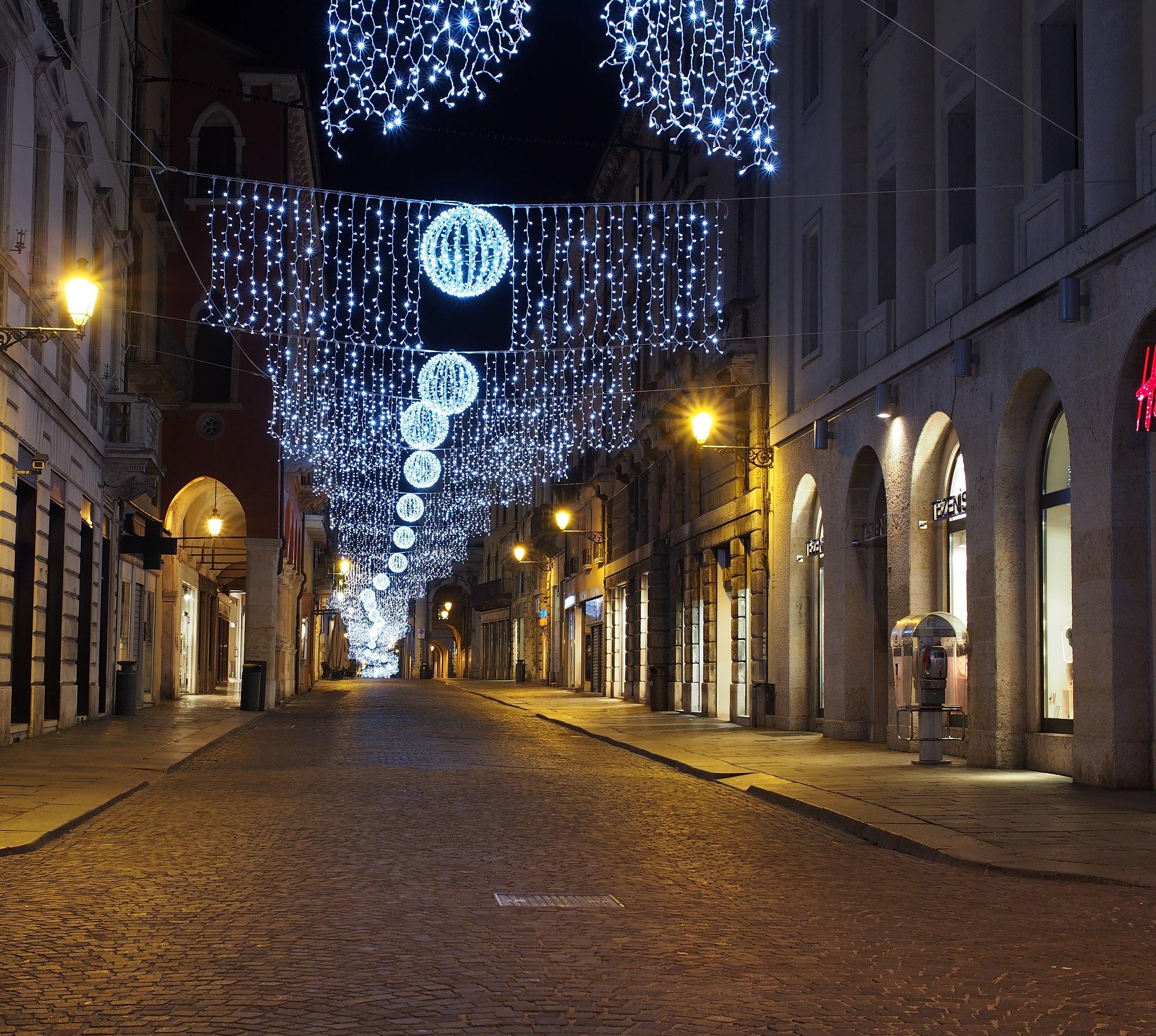 Natale a Vicenza (Corso Palladio)